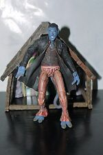 "MARVEL X-MEN 2 UNITED MOVIE LEGENDS NIGHTCRAWLER FIGURE 6"" TOY BIZ DIORAMA"