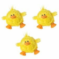 "(3) Mary Meyer 3.5"" Quack Sound Duck Baby Chic Easter Basket Baby Shower"