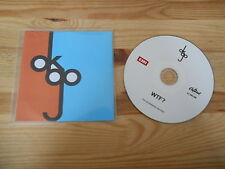CD Pop Ok Go - WTF? (1 Song) Promo EMI CAPITOL