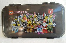 Lego Minifigures Carrying Case Minifigs Mini Fig Series 8 Black Storage 2012 USA