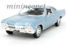 WELLY 22417 1965 65 CHEVROLET IMPALA SS 396 1/24 DIECAST LIGHT BLUE