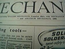 mechanics magazine conplete august 20th 1943