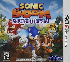 Sonic Boom Shattered Crystal (Nintendo 3DS NDS DSi Video Game Sega Action) NEW