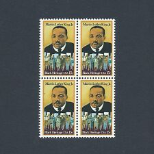 Dr. Martin Luther King - Civil Rights Movement Mint Set of 4 Stamps 38 Years Old