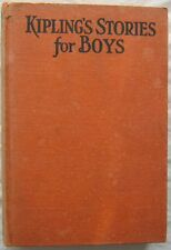 Kiplings Stories For Boys Cupples and Leon 1931