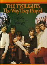 THE TWILIGHTS [SIGNED BY GLENN  SHORROCK] THE WAY THEY PLAYED 1977 G/F VINYL LP
