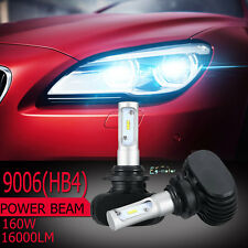 9006 180W 18000LM PHILIPS CSP Single beam 6500K LED Headlight Kit 12V/24V