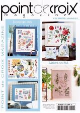 oop French cross stitch magazine Point de croix No.99 Veronique Enginger