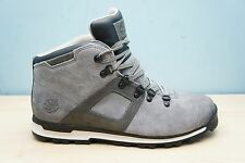 Timberland Mens Size 9.5 UK Scramble Mid Waterproof Ankle Boots Suede Grey BNWB