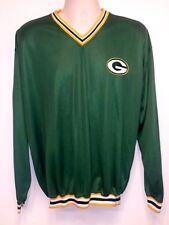 Starter NFL Pro Line Green Bay Packers Jersey Style Sweatshirt - Size M
