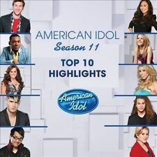 American Idol Season 11 Top 10 Highlights Various Artists Audio CD