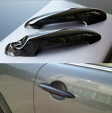 2x GLOSS BLACK Door Handle Cover Trims for BMW MINI Cooper S R50 R52 R53 R55 R56