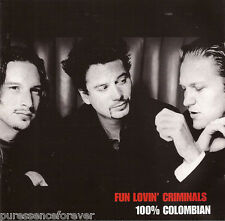 FUN LOVIN' CRIMINALS - 100% Colombian (UK 13 Trk CD Album)