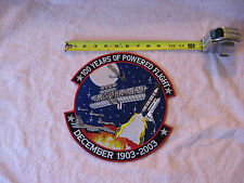 """100 Years Of Powered Flight Patch 10"""""""