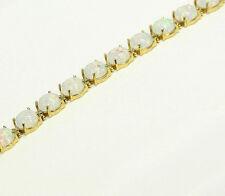 OPAL Weiß mix Farbe 585 Gold Damen Armband in 18,8 cm  länge NEU PI-144