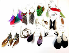 WHOLESALE JOB LOT  500+ ASSORTED UNIQUE EARRINGS ONE OF A KIND SAMPLES NEW