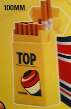 Top 100s Crushproof Plastic Size Cigarette Strong Box - Lot Of 2