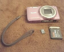 Kodak EasyShare M583 14 MP Digital Camera, 8x Optical Zoom, 3-Inch LCD - Purple