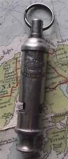 Vintage c1920 Girl Guide Nickel Acme Whistle A