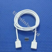2x 4P 5 meter Extension Male & Female Wire Cable For 5050 & 3528 RGB Led Strip