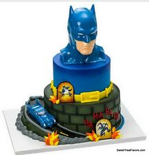 Batman BIRTHDAY Party Supplies Cake Topper Cupcake Justice League Marvel Heroes