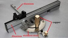 Table Saw Precision Miter Gauge System Wood working Professional Copper Handle