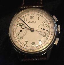 Classic Vintage BREITLING CHRONOGRAPH TWO REGISTEER HAND WINDING