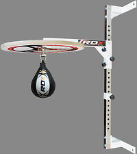 RDX Adjustable Speed Ball Platform Stand Boxing Bag Set Swivel SpeedBall MMA SW