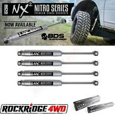 "BDS NX2 Series Shock Absorbers for 93-98 JEEP ZJ Grand Cherokee 4.5"" of lift SET"