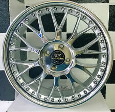 "18"" inch AME Nobely Chrome alloy mag wheels to suit 4/100 vehicles"