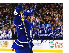 TORONTO MAPLE LEAFS CONNOR CARRICK SIGNED CELEBRATION 8X10