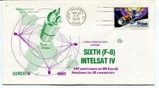 1974 Sixth F-8 Intelsat IV 102 Antennas Global Communications Cape Canaveral SAT