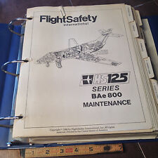 British Aerospace HS125 Series BAe 800 Maintenance Training Manual