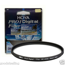 NEW HOYA 77mm Pro1 Digital UV Filter HOYA PRO1D Multi-Coated UV Filter 77mm