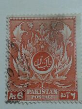 Pakistan Stamp - As 6