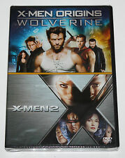 X-MEN ORIGINS - WOLVERINE - X-MAN 2- DVD - NEW IN SEALED BOX