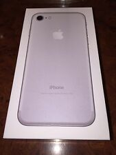 IPhone 7 Grey / Silver / Metallic 128 GB Empty Box No Manuals Or Accessories.