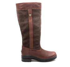 Ariat Boots Women's Windermere Waterproof Color Chocolate B-Medium Calf SIZE 7
