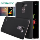 Nillkin Black Matte Shield Hard Back Case Cover + Screen Protector Film For LG