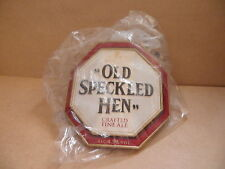 Morland Old Speckled Hen Thick Plastic Ale Beer Pump Clip face Bar Collectible