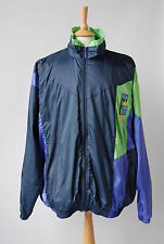 Vtg 1980s NIKE Shell Suit Jacket Windbreaker 3XL XXL