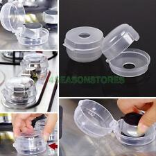 Baby Kid Stove Oven Knob Lock Cover Protector Kitchen Safety Tools Clear 2 Piece