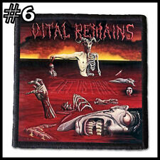VITAL REMAINS   --- Patch / Aufnäher --- Various Designs