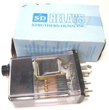 STRUTHERS-DUNN 246BBXP-010 PNEUMATIC TIMING RELAY 1-10 SECONDS NIP MADE IN USA!