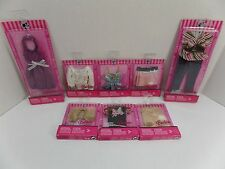 New Barbie Fashion Fever Doll Clothes Lot of 8 - Shirts, Skirts, Dress & Jeans