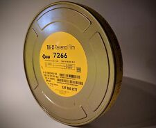 Kodak 16mm DoubleX B&W Negative Movie Film 7222 400' 250 ISO 1R Roll Brand New