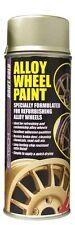 Drift Gold E-Tech Car Alloy Wheel Spray Paint 400Ml Can Chip Resistant
