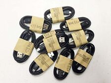 10x OEM Samsung Rapid Charge Micro USB Cable Charging Cord For Android Phones BK