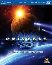 The Universe in 3D: A Whole New Dimension (Blu-ray Disc, 2014, 3D)