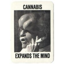 FUN - Cannabis-Expands The Mind - Aufkleber Sticker - Neu #264 - Funartikel